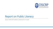 2015 CISCRP Perceptions & Insights Study: Public Literacy